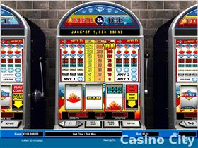 Fire and Ice 1 Line Progressive Slot Slot