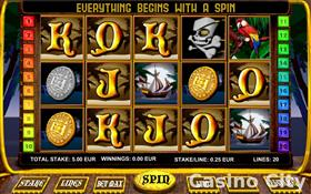 Dead Mans Chest (20-line) Progressive Jackpot Slot