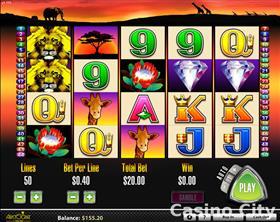 50 Lions Online Casino Slot Game