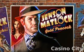 Jenson Matlock and the Gold Peacock Slot