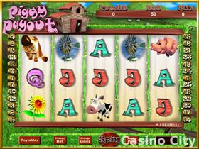 Piggy Payout Progressive Slot