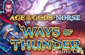 Age of the Gods: Ways of Thunder Slot
