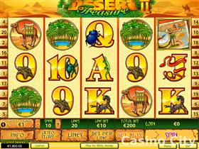 Desert Treasure II Slot