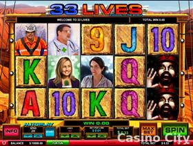 33 Lives A Lesson to the World Slot
