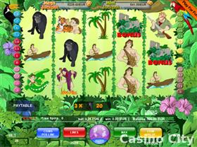 Jungle Boy 25 Line Slot