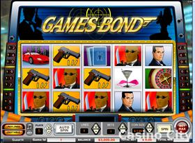 Games Bond 9 Line Slot