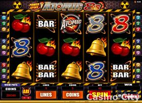 Power Spins Atomic 8s Slot