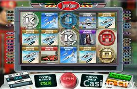 Captain Scarlet Slot
