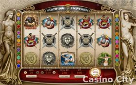 Platinum Lightning Slot