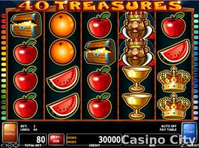 40 Treasures Slot