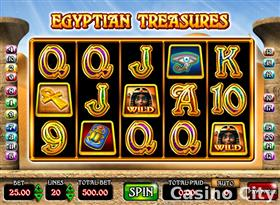 Egyptian Treasures Slot