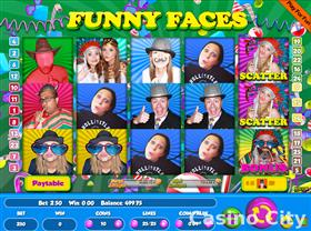 Funny Faces 25 Line Slot