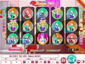 Manga Girls 25 Lines Slot