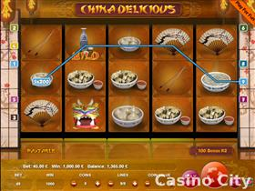 China Delicious 9 Line Slot