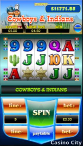 Cowboys & Indians Slot