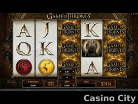 Game of Thrones 15-Line Slot