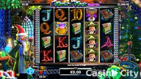 Merlin's Magic Respins Christmas Slot