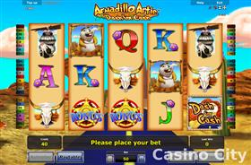 Armadillo Artie: Dash For Cash Slot