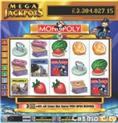 "MegaJackpots Monopoly With Pass ""GO"" Bonus Slot"