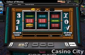 Colour of Money Slot
