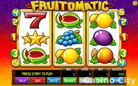 Fruitomatic Slot