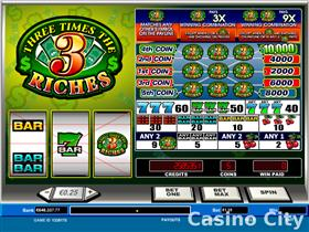 Three Times the Riches Slot