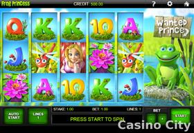 Frog Princess Slot