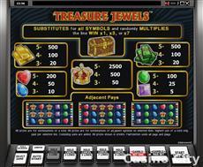 Treasure Jewels Online Casino Slot Game