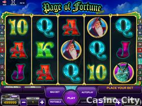 Page of Fortune Deluxe Slot