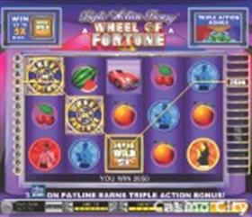 Wheel of Fortune Triple Action Frenzy Slot