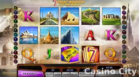 7 Great Wonders of the World Slot