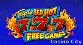 Triple Red Hot 7s Free Games Slot