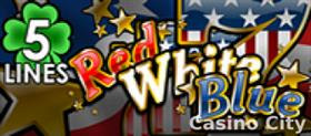 Red White Blue 5 Line Slot