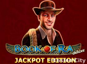 Book of Ra Deluxe Jackpot Edition Slot