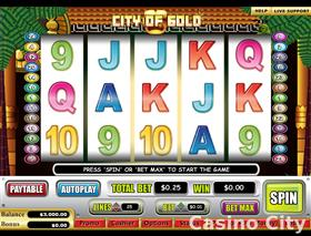 City of Gold Slot