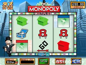 Monopoly Multiplier Slot
