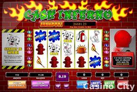 Cash Inferno Online Casino Slot Game