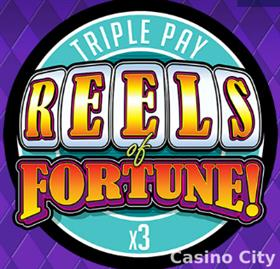 Reels of Fortune! Triple Pay Slot