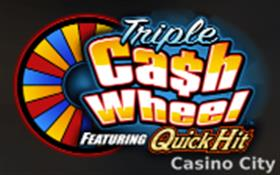 Triple Cash Wheel Slot