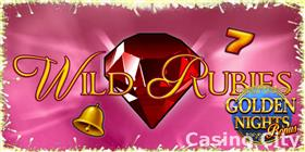 Wild Rubies: Golden Nights Slot