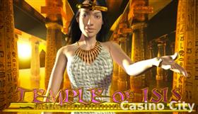 Temple of Isis Super Jackpot Slot