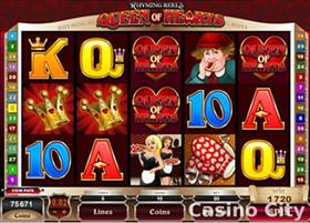 Rhyming Reels - Queen of Hearts Slot