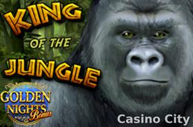 King of the Jungle: Golden Nights Slot
