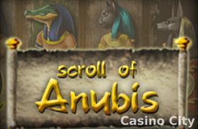 Scroll of Anubis Slot