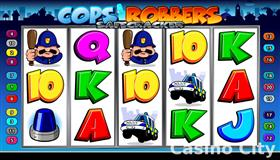 Cops 'n' Robbers Safecracker Slot