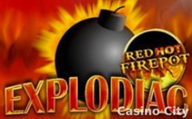 Explodiac - Red Hot Fire Pot Slot