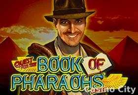 Quest for the Book of Pharaohs Deluxe Slot