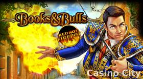 Books & Bulls - Red Hot Firepot Slot