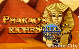 Pharao's Riches: Golden Nights Slot