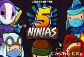 Legend of the 5 Ninjas Slot